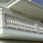 Balcone in cemento