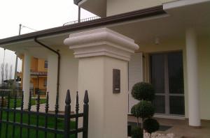 copri pilastro in cemento